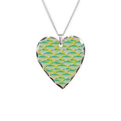 School of yellowtail snapper 1 Necklace
