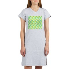 School of yellowtail snapper 1 Women's Nightshirt