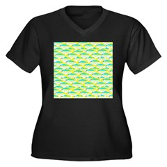 School of yellowtail snapper 1 Plus Size T-Shirt