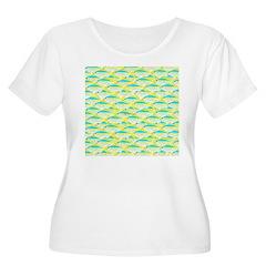 School of yellowtail snapper 1 Plus Size T-Shirt