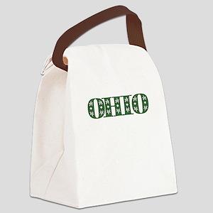 OHIO IN MARIJUANA FONT Canvas Lunch Bag