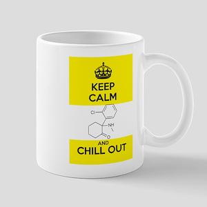 Keep Calm and Chill Out Ketamine Small Mug