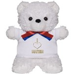 I Heart Maksim (dark) Teddy Bear