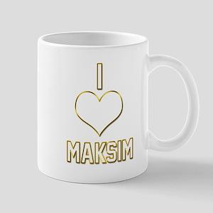 I Heart Maksim (dark) Mug
