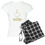 I Heart Maksim (dark) Pajamas