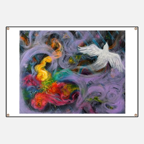Divine Pattern, Holy Spirit Banner