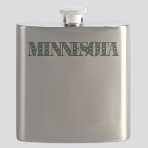MINNESOTA IN MARIJUANA FONT Flask