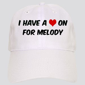 Heart on for Melody Cap