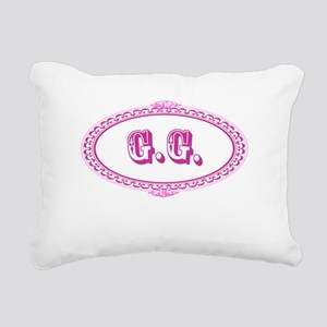 G.G. Rectangular Canvas Pillow
