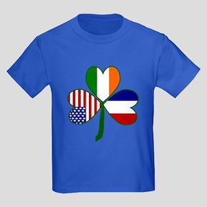 Shamrock of France Kids Dark T-Shirt
