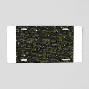 Black Bullhead catfish School Pattern f Aluminum L