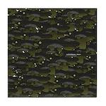 Black Bullhead catfish School Pattern f Tile Coast