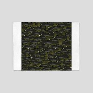 Black Bullhead catfish School Pattern f 5'x7'Area
