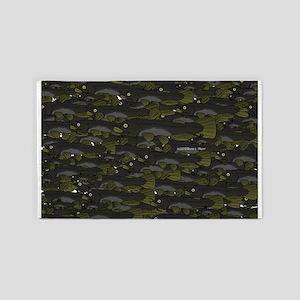 Black Bullhead catfish School Pattern f 3'x5' Area