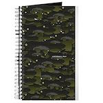 Black Bullhead catfish School Pattern f Journal