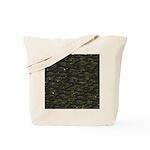 Black Bullhead catfish School Pattern f Tote Bag
