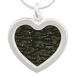 Black Bullhead catfish School Pattern f Necklaces