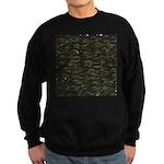 Black Bullhead catfish School Pattern f Sweatshirt