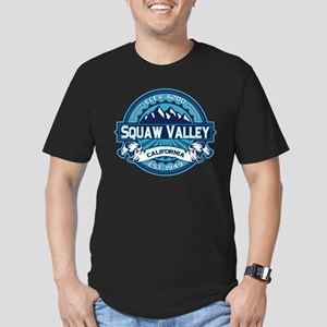 Squaw Valley Ice Men's Fitted T-Shirt (dark)