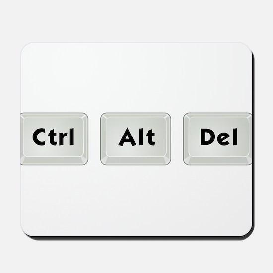 Ctrl Alt Del Mousepad