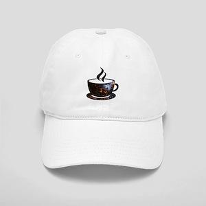 Cosmic Coffee Cup Baseball Cap