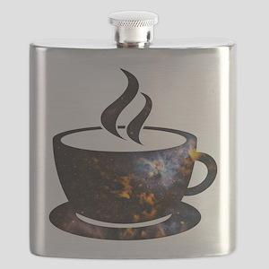 Cosmic Coffee Cup Flask