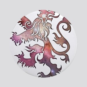 Heraldry Lion Ornament (Round)