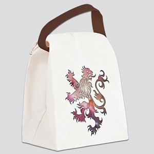 Heraldry Lion Canvas Lunch Bag