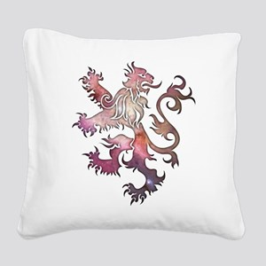 Heraldry Lion Square Canvas Pillow