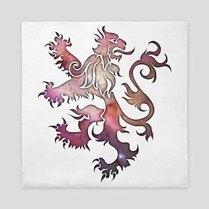 Heraldry Lion Queen Duvet
