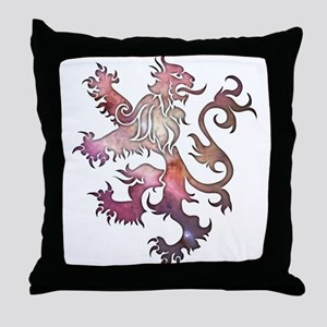 Heraldry Lion Throw Pillow