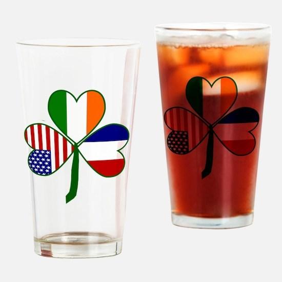 Shamrock of France Drinking Glass