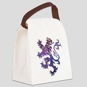 The Lion Canvas Lunch Bag