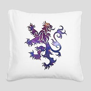 The Lion Square Canvas Pillow