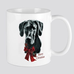 Great Dane Christmas Mug