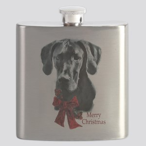 Great Dane Christmas Flask