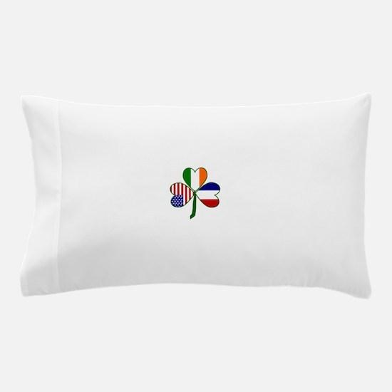 Shamrock of France Pillow Case
