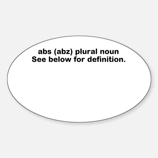 Abs definition Decal