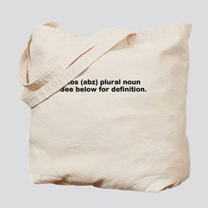 Abs definition Tote Bag