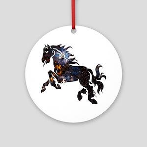 Cosmic Horse Ornament (Round)