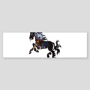 Cosmic Horse Bumper Sticker