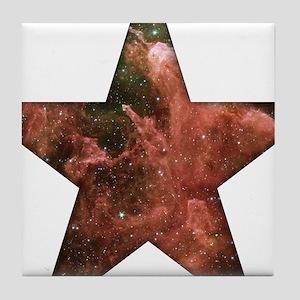 Cosmic Star Tile Coaster