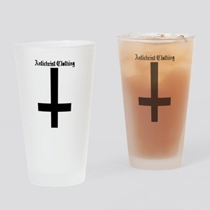 Inverted Cross Drinking Glass