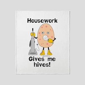 Housework Throw Blanket