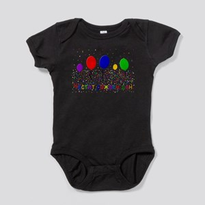Bulgarian Happy Birthday Baby Bodysuit