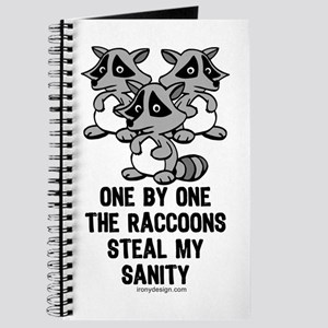 One By One The Raccoons Journal