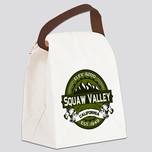 Squaw Valley Olive Canvas Lunch Bag