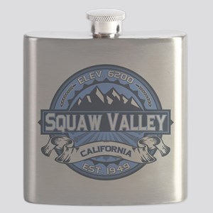 Squaw Valley Blue Flask