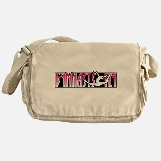 Gymnasts Fly Messenger Bag