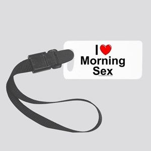 Morning Sex Small Luggage Tag